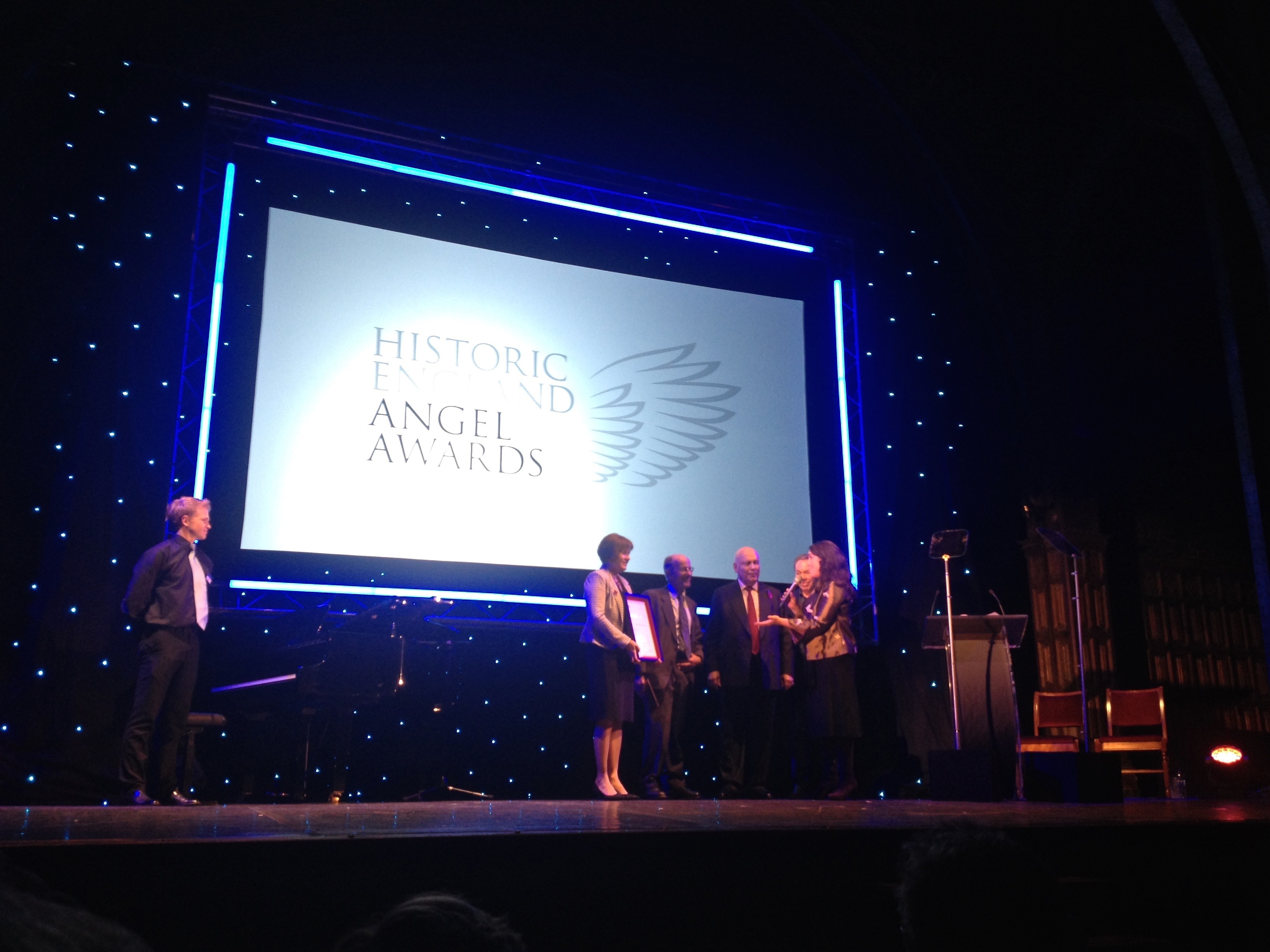 Clevedon Pier – wins Historic England Angel Awards 2016