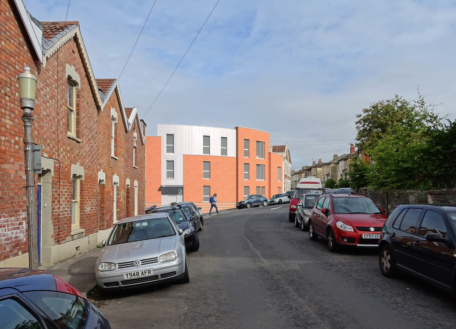 Planning permission for new infill building