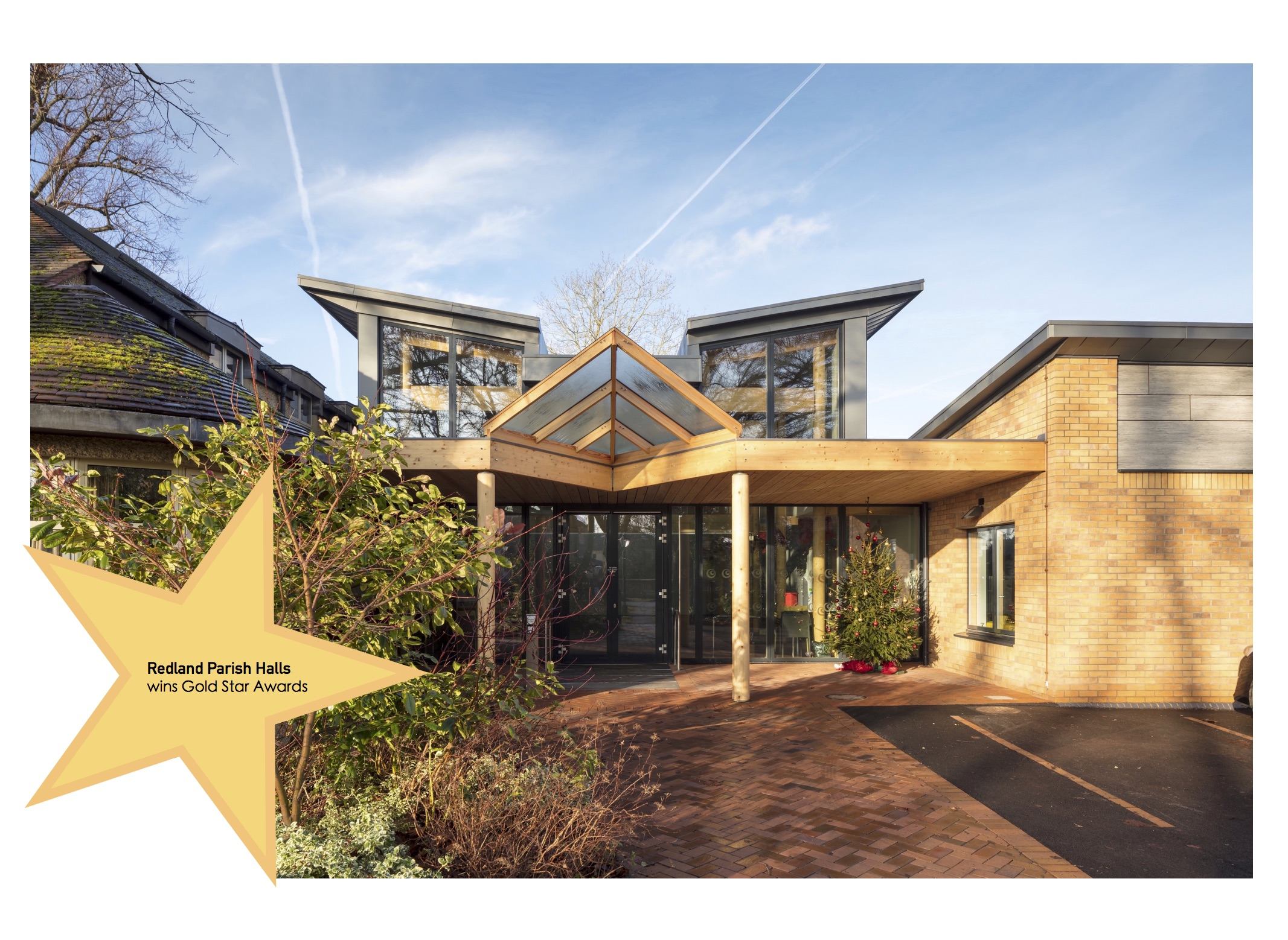 Redland and Cotham Amenities Society have awarded a Gold Star Award to Redland Parish Church Halls for quality design