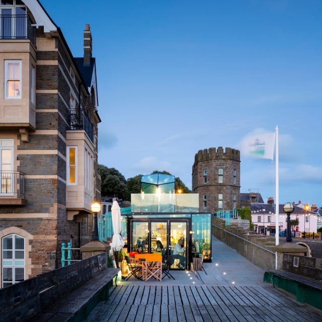 Clevedon Pier, New Visitor Centre
