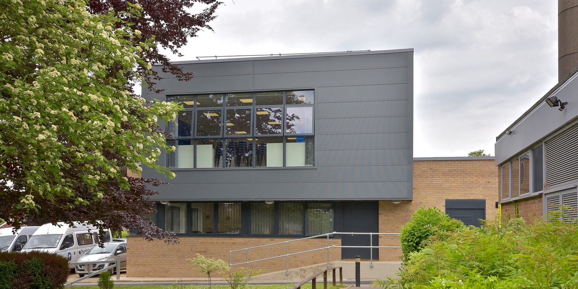 New Design Technology building opens at St Joseph's Catholic School, Laverstock