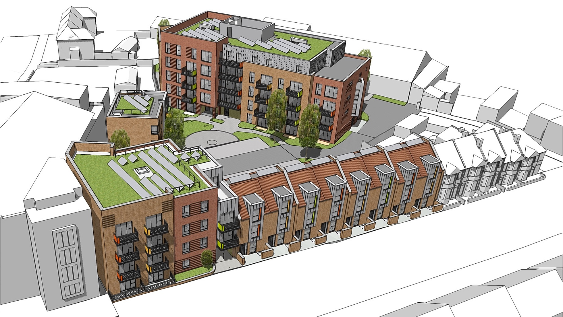Planning application for Urban Living in South Bristol