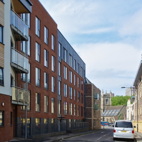 Trinity Apartments, Braggs Lane, Old Market, Bristol