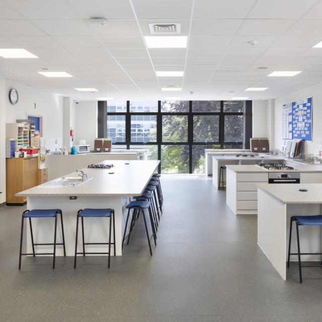 New Design + Technology Block, St. Josephs School, Sailsbury