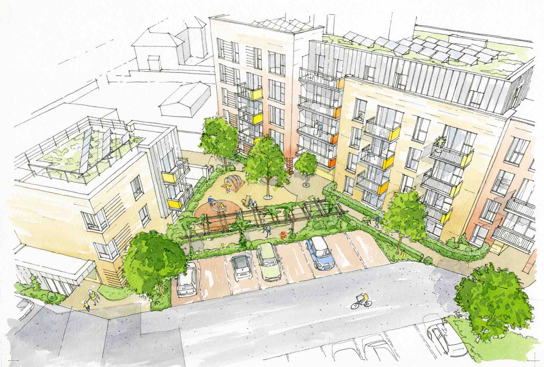 Planning permission for Urban Living in South Bristol