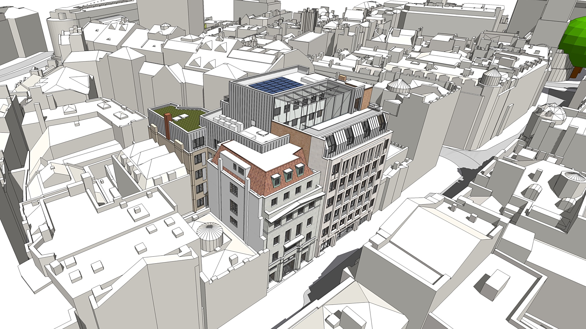 Planning application for hotel in Corn Street