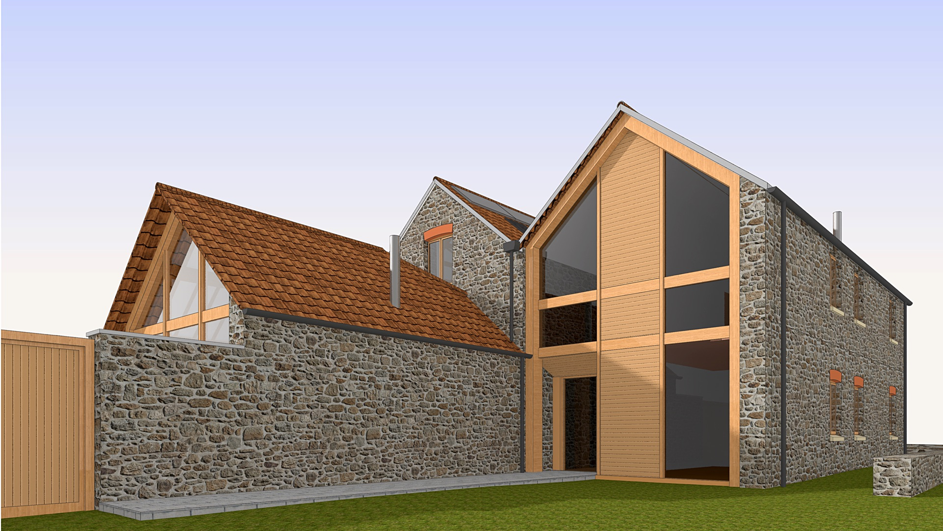 Permission for Barn Conversion in North Somerset