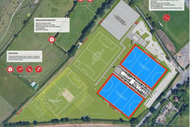 New school sports complex proposals presented to community