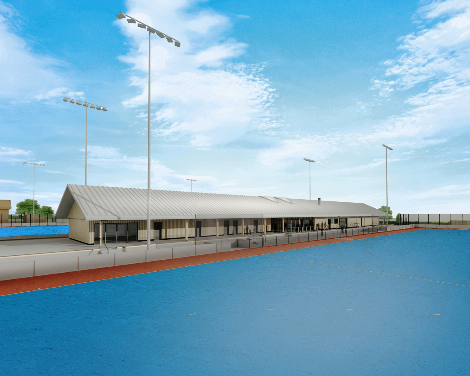 Sports Complex for Redmaids' High School submitted for planning