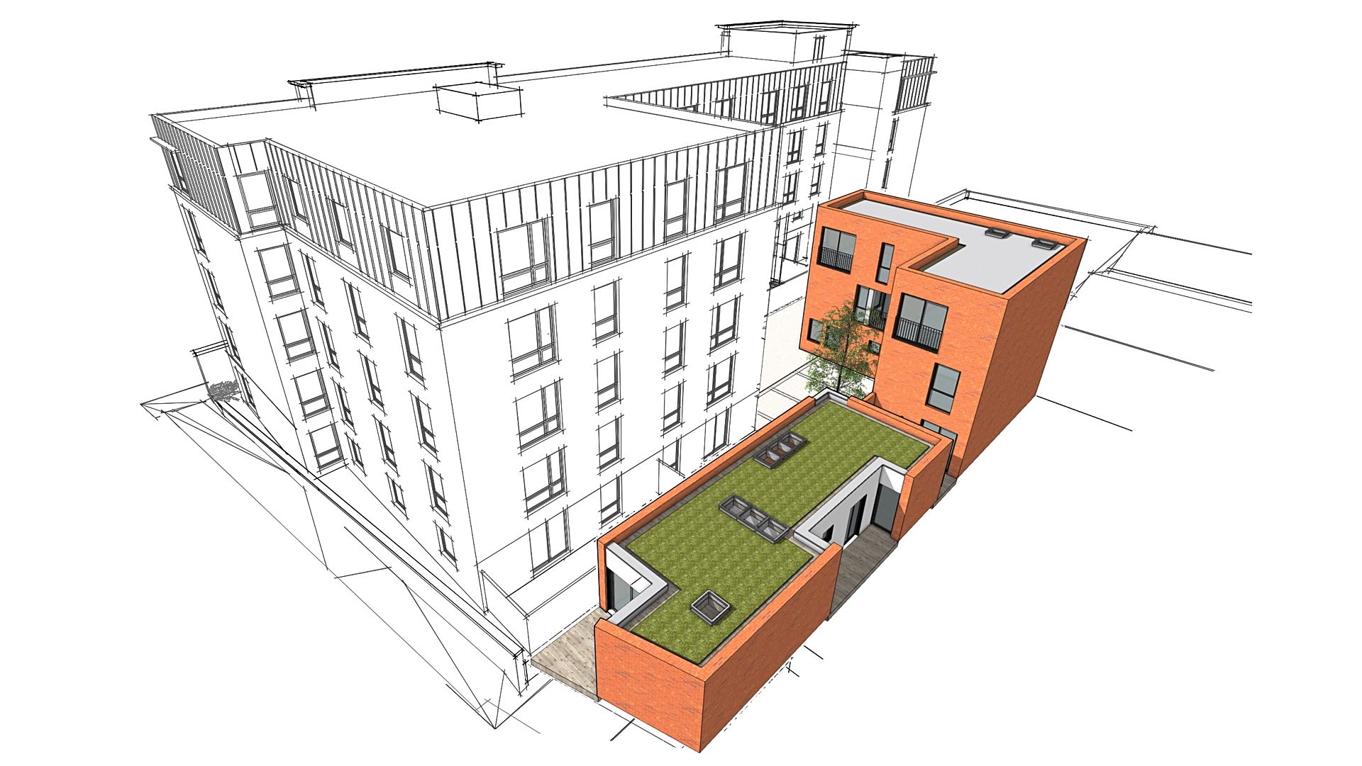 Planning application for new mews houses in Bristol