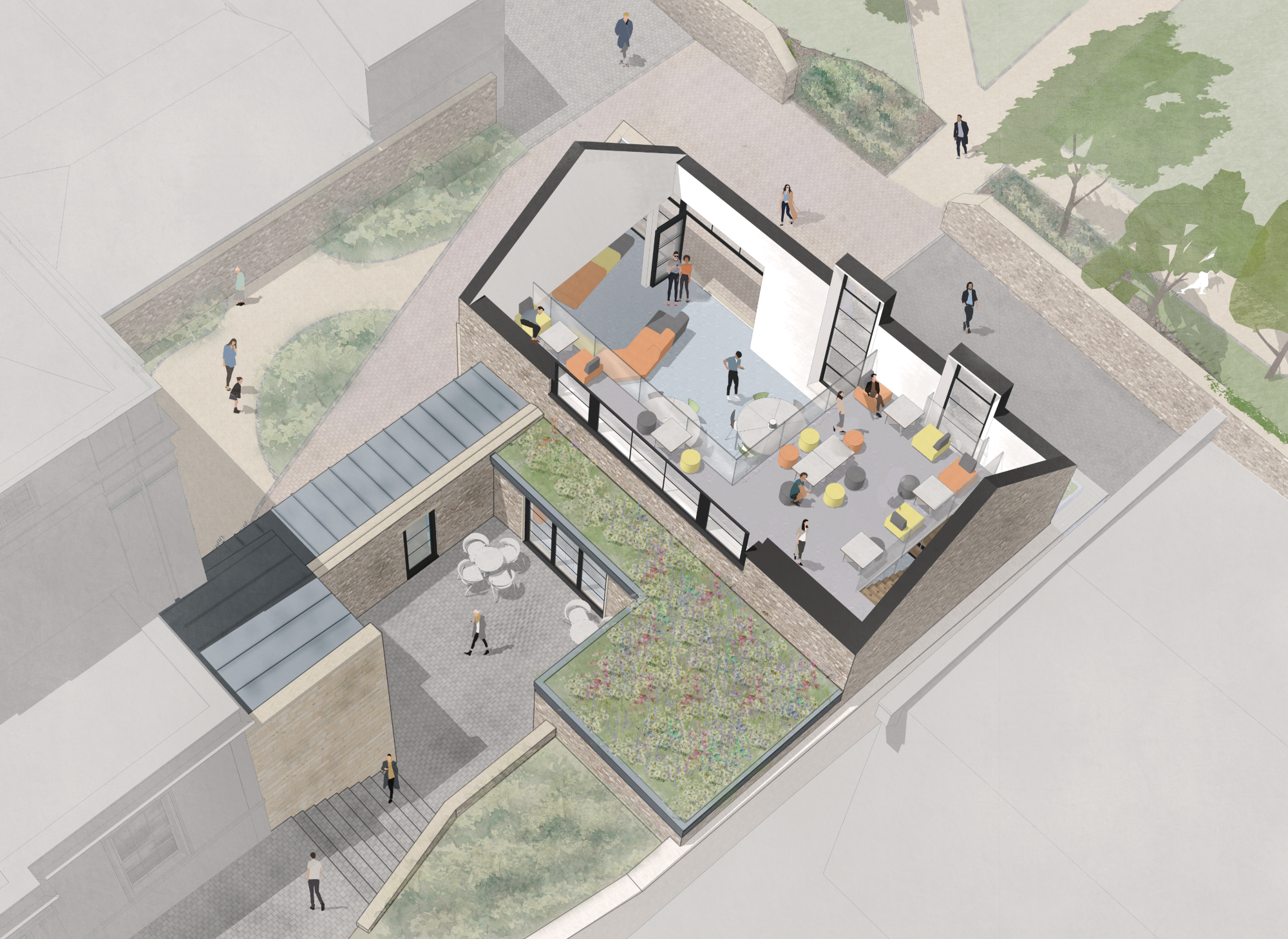 New Sixth Form Building for Clifton High School